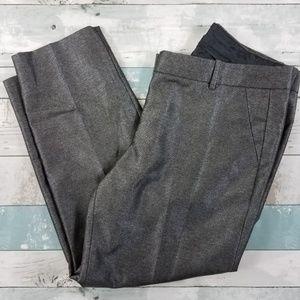 J. Crew Factory Shimmer Skimmer Pants Size 10